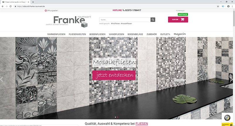franke-raumwert.de gambio shop